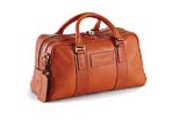 Leather Small Holdall