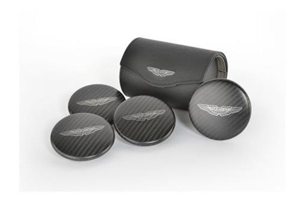 Carbon Fibre Centre Caps & Presentation Case