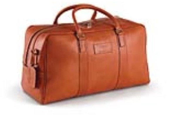 Leather Extra Large Holdall