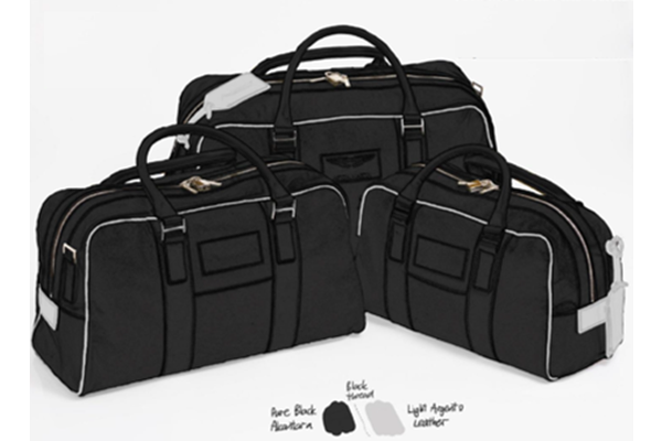 AMR Rapide Leather Luggae Set - 4 Piece