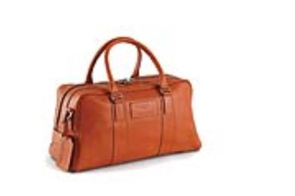 2 Piece Luggage Set Leather