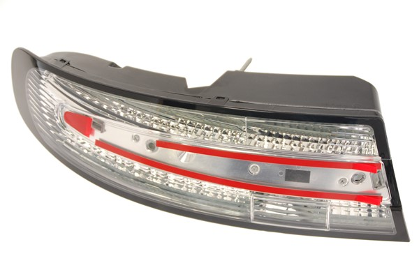 LH Clear Rear Lamp (Black Border)