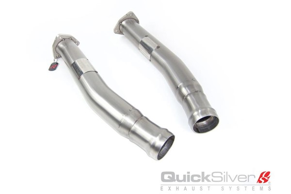 Aston Martin V8 Vantage Secondary Catalyst Replacement Pipes (2011-18)