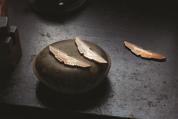Gold Wings Badge Set
