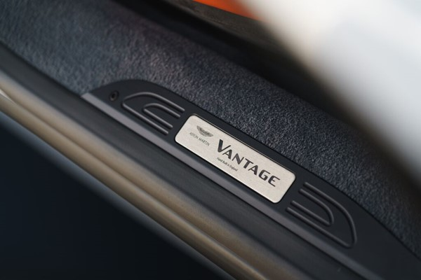 Vantage (2019MY) Personalised Sill Plaque